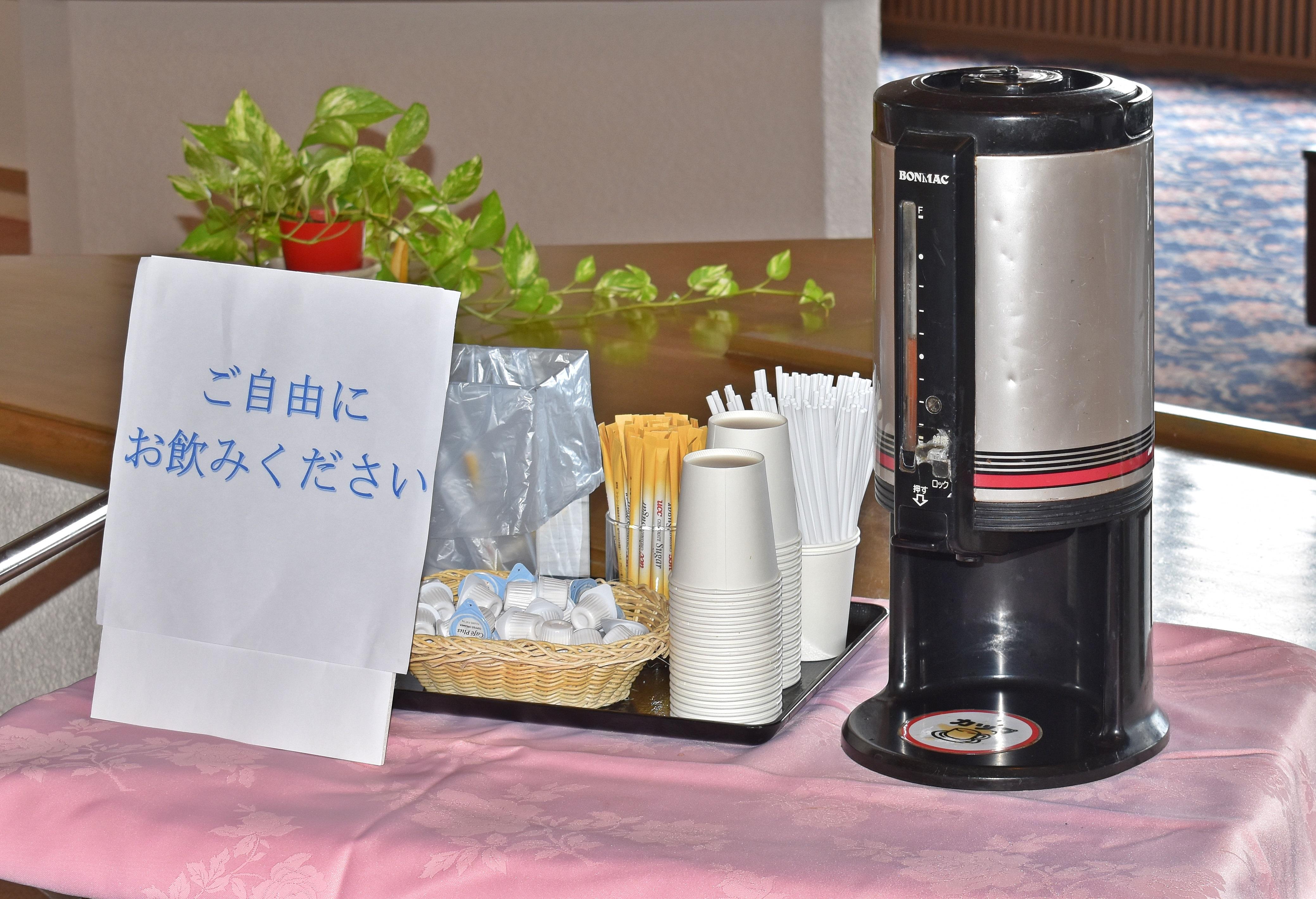 ラウンド後のホットコーヒーサービスいたしております。
