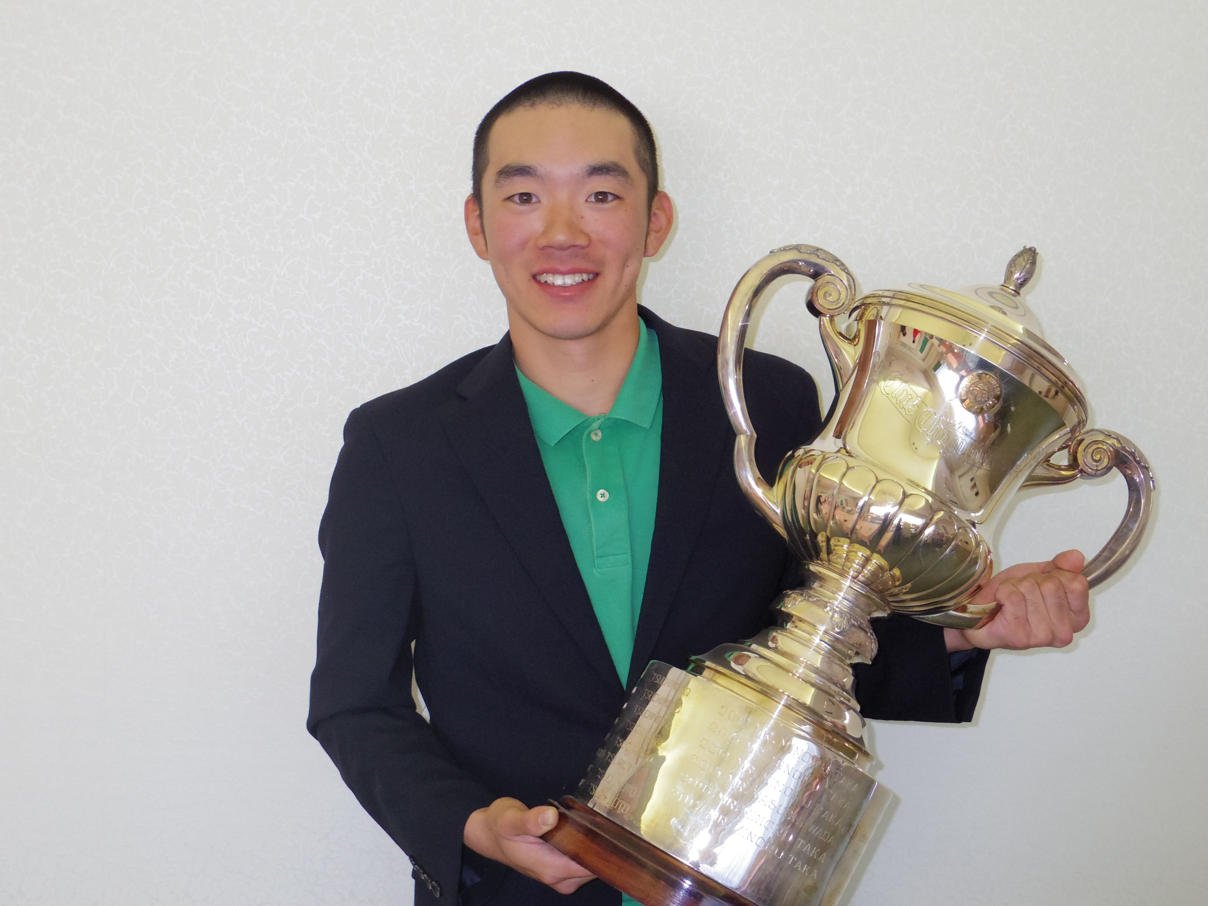 本年度クラブチャンピオン 大澤君 笹部杯で10位タイの活躍!!